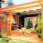 Как построить террасу из дерева самостоятельно?