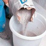 Приготовление раствора для штукатурки стен