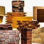 Строительные материалы для отделки фасадов: описание,фото,видео.
