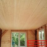 Как закончить потолок на даче