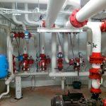 Как устроена система подачи горячей воды в здание?