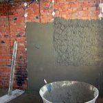 Цементная штукатурка: свойства,виды,фото,применение,характеристики