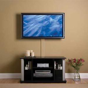 Как снять телевизор с кронштейна на стене