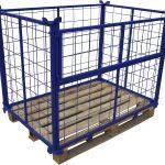 Производство складского оборудования для хранения и перевозки грузов
