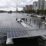 PlanetSolar — самое большое в мире судно на солнечных батареях