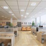 Как сделать комфортное освещение в офисе ?