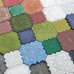 Краситель для бетона: виды, свойства, цена, фото, видео, методы окрашивания