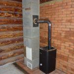 Дымоход для железной печки в бане. Установка трубы в баню – советы опытного строителя. Виды дымоходов для дровяной печи