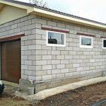 Как построить гараж из пеноблоков?