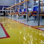 Полимерные наливные полы для промышленных объектов